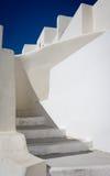 圣托里尼步,希腊 图库摄影
