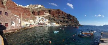圣托里尼浪漫海岛希腊 免版税图库摄影