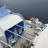 圣托里尼浪漫海岛希腊 库存图片