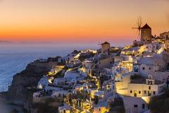 圣托里尼海岛,希腊 库存图片