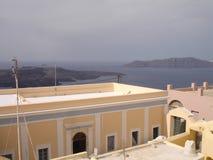 圣托里尼,一希腊的访问的海岛 库存图片