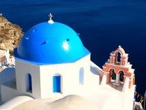 圣托里尼,希腊 库存图片
