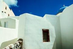 圣托里尼, GREECE-SEPTEMBER, 04,2014 库存图片