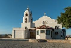 圣托马斯印地安使命,尤马,亚利桑那 免版税库存照片