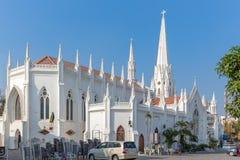 圣托马斯大教堂,金奈,泰米尔纳德邦,印度 免版税图库摄影