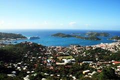 美国加勒比 库存图片