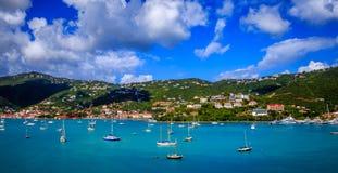 圣托马斯热带海岛 库存图片