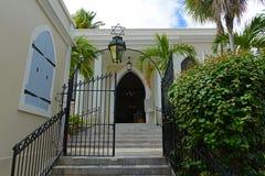 圣托马斯犹太教堂,夏洛特阿马利亚,美国维尔京群岛 免版税库存图片