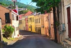 圣托马斯,美国维尔京群岛 免版税库存照片