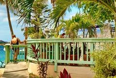圣托马斯,美国维尔京群岛 库存图片