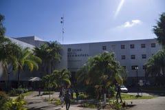 圣拉斐尔医院在阿拉胡埃拉,哥斯达黎加 免版税库存照片