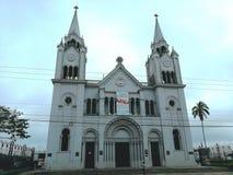 圣拉蒙天主教会哥斯达黎加 免版税库存照片
