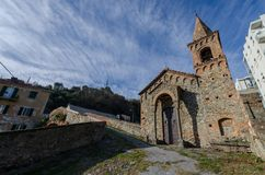 圣教会  马蒂诺在萨沃纳在利古里亚 图库摄影
