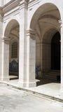 圣文森修道院,里斯本,葡萄牙修道院  免版税图库摄影