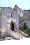 圣文森教会,列斯Baux de普罗旺斯,法国 免版税库存图片