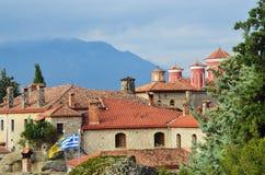 圣斯德望圣洁修道院,迈泰奥拉,希腊 免版税库存图片
