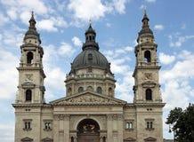圣斯德望的大教堂布达佩斯匈牙利 免版税库存照片