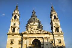 圣斯德望` s大教堂在布达佩斯,匈牙利 库存照片