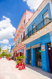 圣斯皮里图斯市,古巴- 2015年9月5日:拉丁语 免版税图库摄影