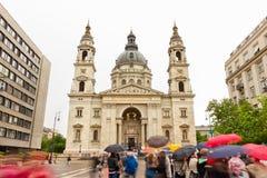 圣斯蒂芬大教堂-布达佩斯-匈牙利 免版税库存图片