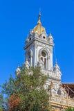 圣斯蒂芬教会塔在伊斯坦布尔 库存图片