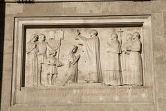 圣斯蒂芬大教堂,布达佩斯,匈牙利细节  免版税图库摄影