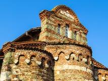 圣斯蒂芬教会, 10世纪 老Nessebar,保加利亚 免版税库存照片