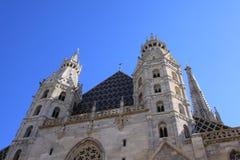 圣斯蒂芬的大教堂在维也纳 库存图片