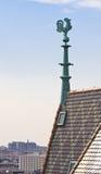 圣斯蒂芬的大教堂屋顶  维也纳 奥地利 图库摄影
