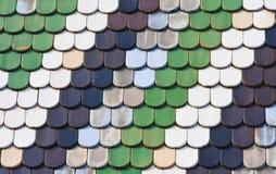 圣斯蒂芬的大教堂屋顶  维也纳 奥地利 免版税库存照片