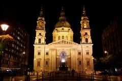圣斯蒂芬的大教堂,布达佩斯,匈牙利 库存图片