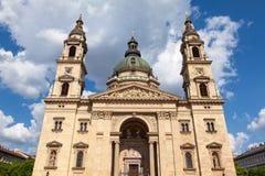 圣斯蒂芬的大教堂,布达佩斯,匈牙利 图库摄影