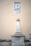 圣斯蒂芬纪念教会在Baden 库存照片