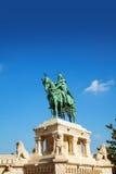圣斯蒂芬雕象我在布达佩斯 免版税图库摄影