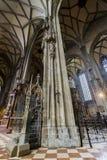 圣斯蒂芬` s大教堂在维也纳 免版税库存照片