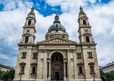 圣斯蒂芬` s大教堂布达佩斯匈牙利 免版税库存照片