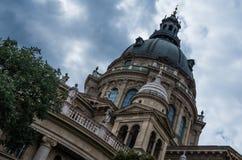 圣斯蒂芬` s大教堂布达佩斯匈牙利 库存图片