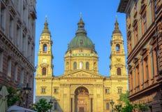 圣斯蒂芬` s大教堂,布达佩斯,匈牙利 免版税库存图片