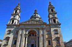 圣斯蒂芬` s大教堂,布达佩斯,匈牙利 免版税库存照片