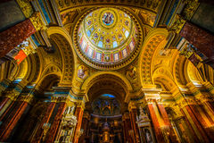 圣斯蒂芬` s大教堂 库存照片