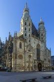 圣斯蒂芬& x27; s大教堂-维也纳-奥地利 库存图片
