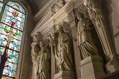 圣日耳曼Auxerrois教会,巴黎,法国 免版税库存图片