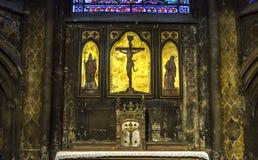 圣日耳曼Auxerrois教会,巴黎,法国 图库摄影