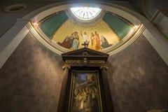 圣日耳曼en Laye,法国修道院  免版税库存照片