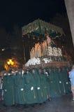 圣星期四队伍在内尔哈西班牙 图库摄影