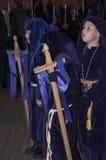 圣星期四队伍在内尔哈西班牙 库存图片