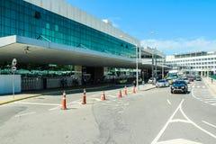 圣杜蒙特机场,里约热内卢 图库摄影