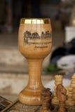 圣杯木头 免版税库存照片
