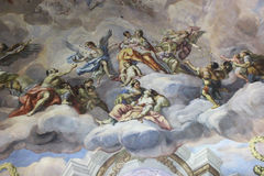 圣查尔斯教会(维也纳) 免版税库存照片