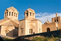 圣格雷戈里反光板大教堂,耶烈万,亚美尼亚 图库摄影